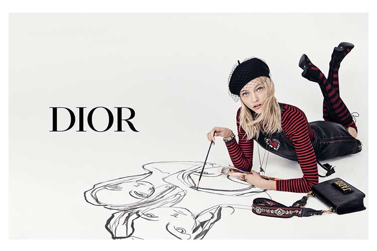 Fashion art by Dior 1